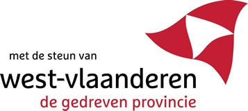 logo with the                               support of the province  of West-Vlaanderen
